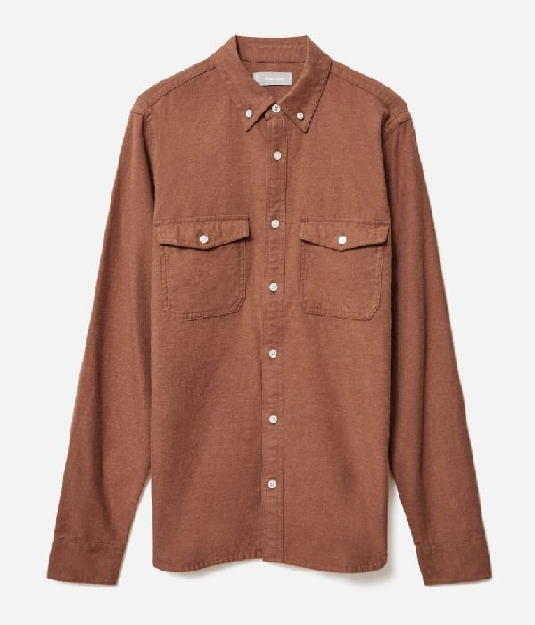 Everlane The Brushed Flannel Shirt