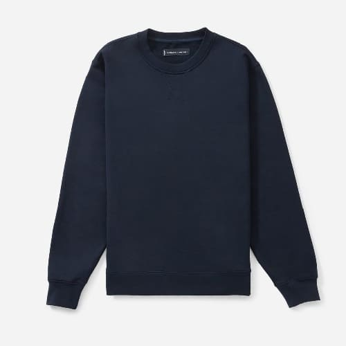 Everlane The French Terry Crew