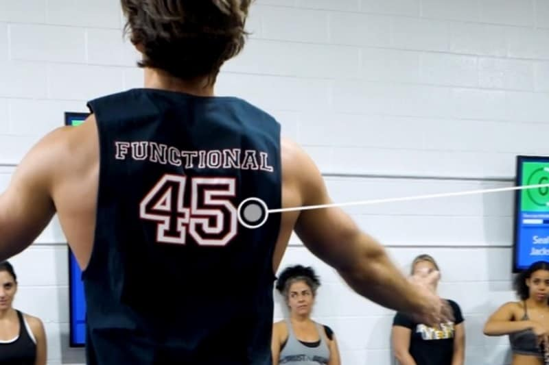 F45's workouts uniqueness
