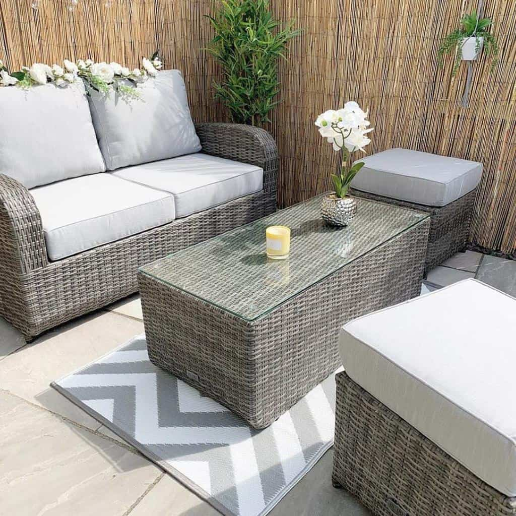 Fence Deck Privacy Ideas -modafurnishings