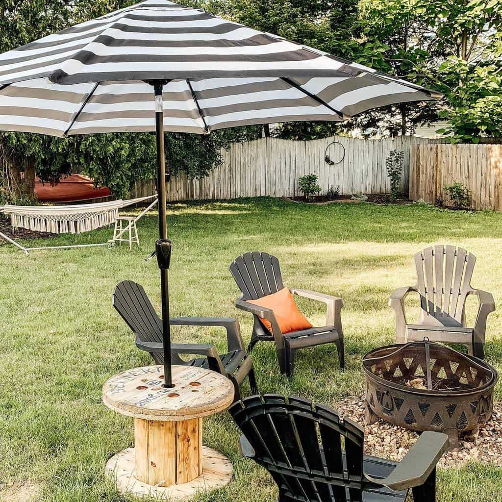 Firepit DIY Backyard Ideas -updatemycape
