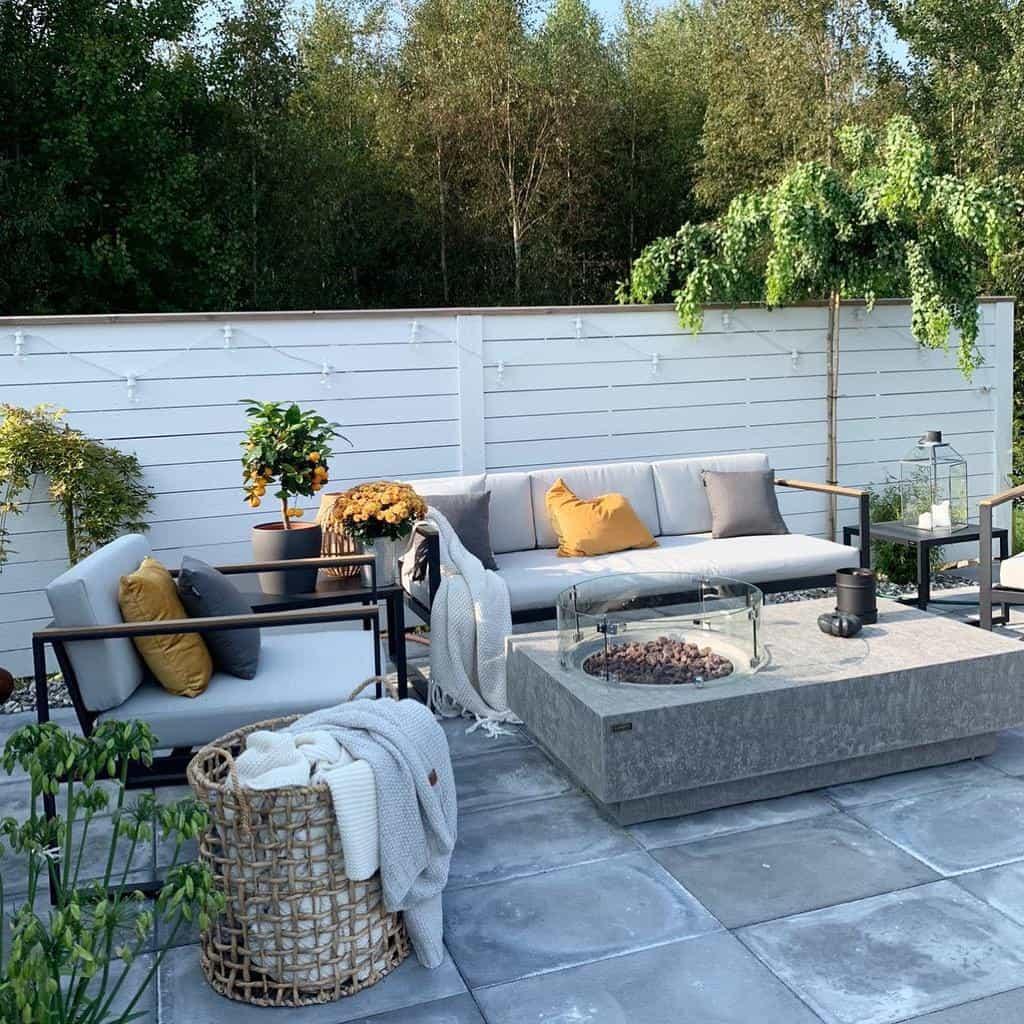 Firepit Patio Garden Ideas -mykindoflike