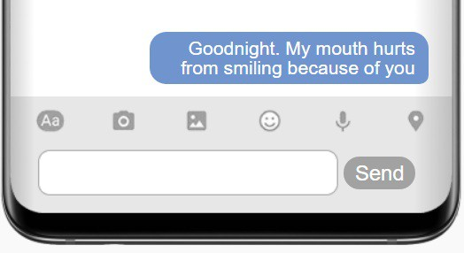 Flirty Goodnight Text For Her