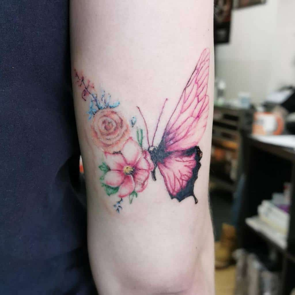 Flower Butterfly Tattoo Meaning chani.ev.tattoos