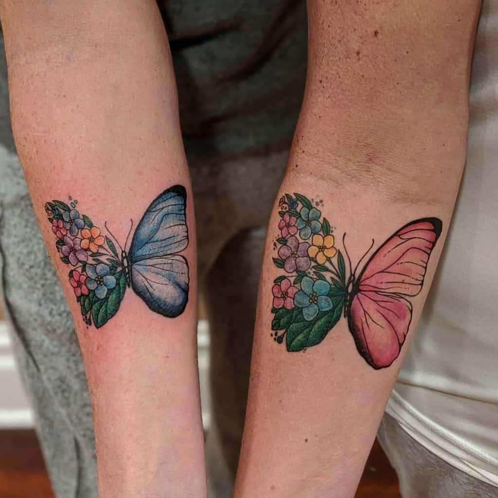 Flower Butterfly Tattoo Meaning unicornie_love