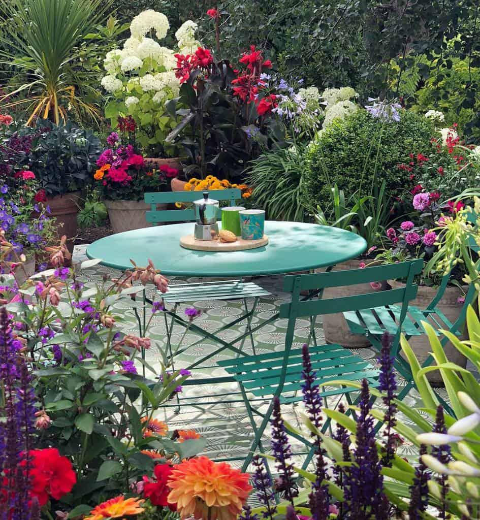 Flowers Patio Garden Ideas -garden_conversations