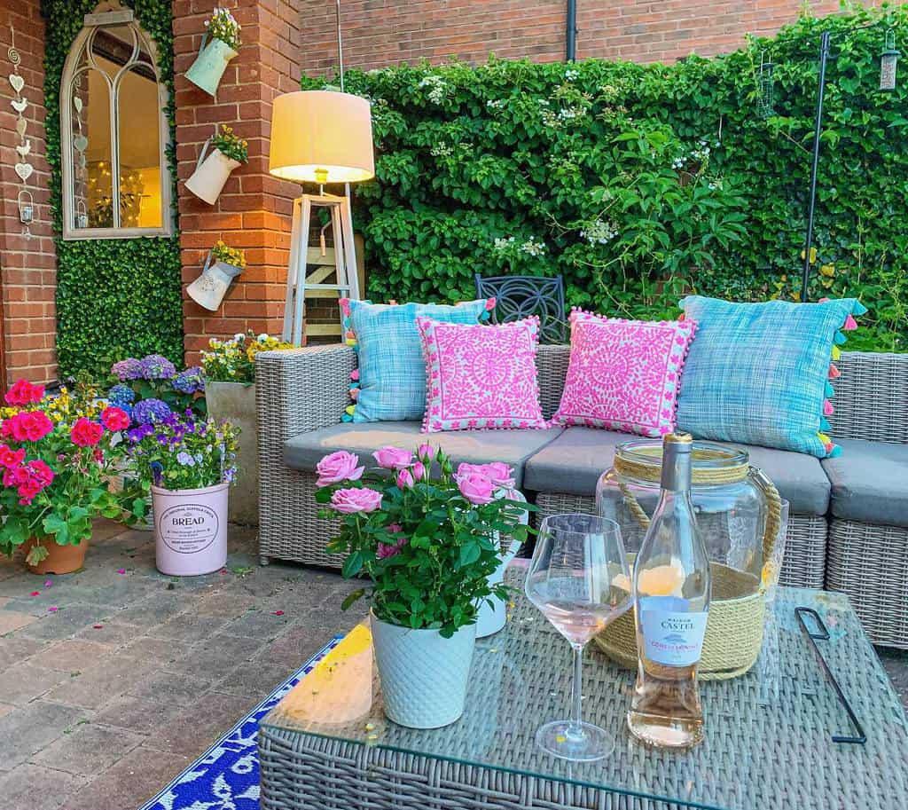 Flowers Patio Garden Ideas -home_shabby_chic