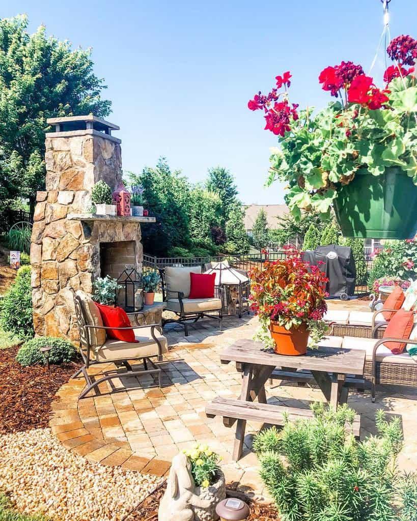 Flowers Patio Garden Ideas -homestead_on_lexington