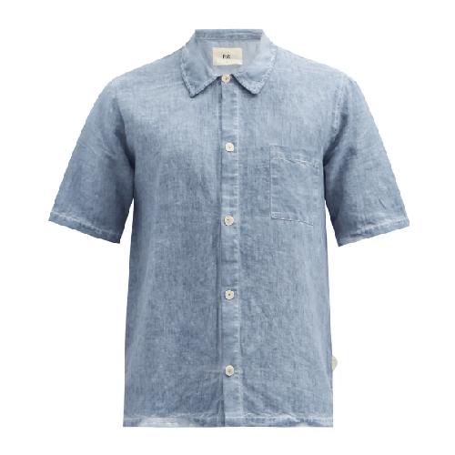 Folk Seoul Linen Short Sleeve Shirt
