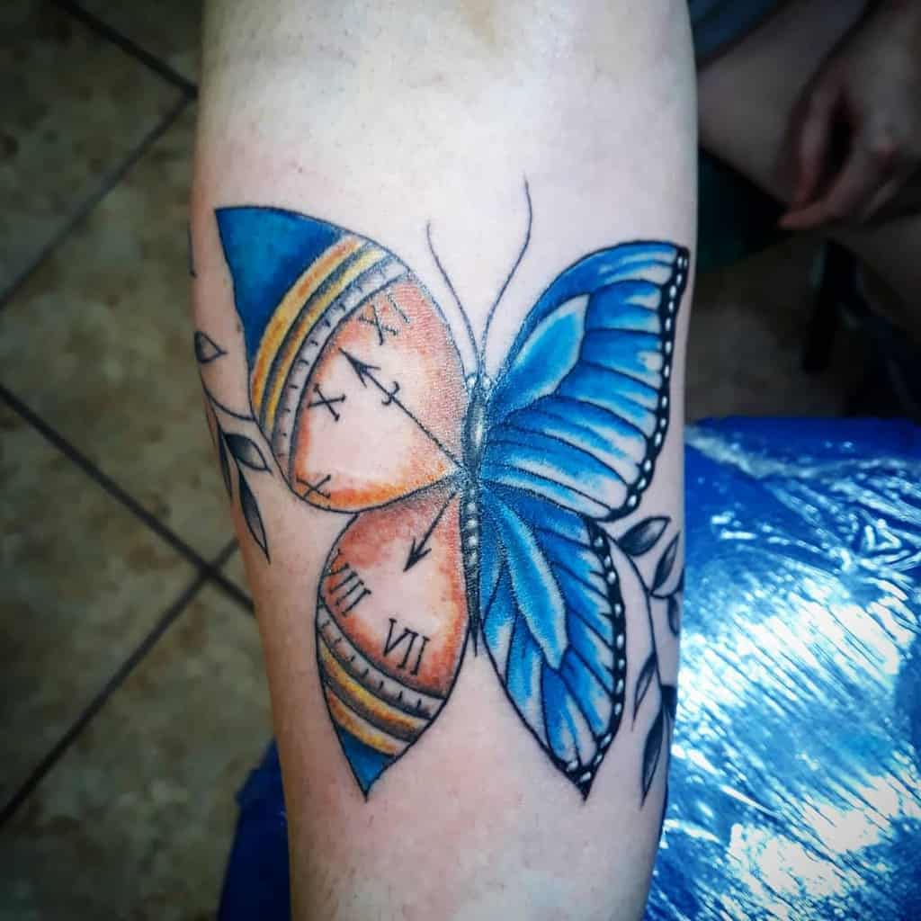 Forearm Butterfly Tattoo Meaning analuatattoo