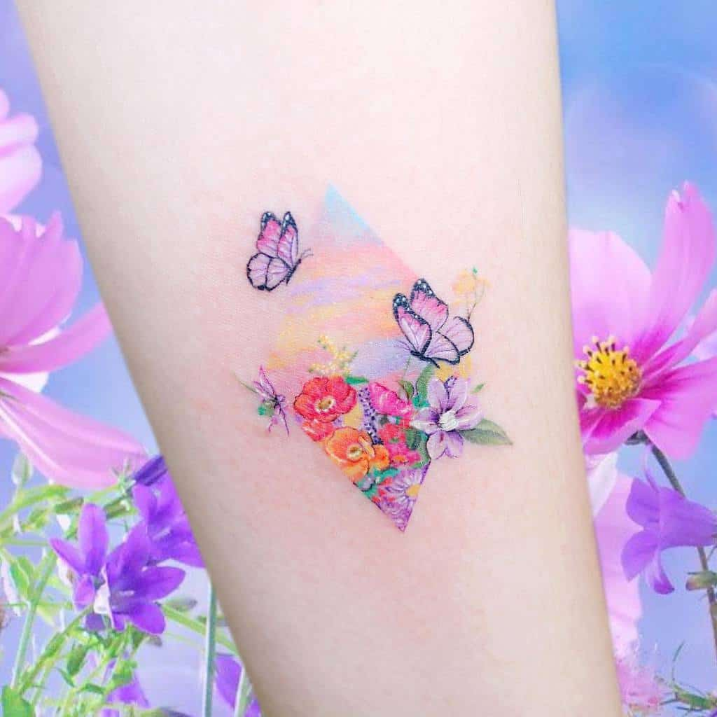 Forearm Butterfly Tattoo Meaning guseul_tattoo