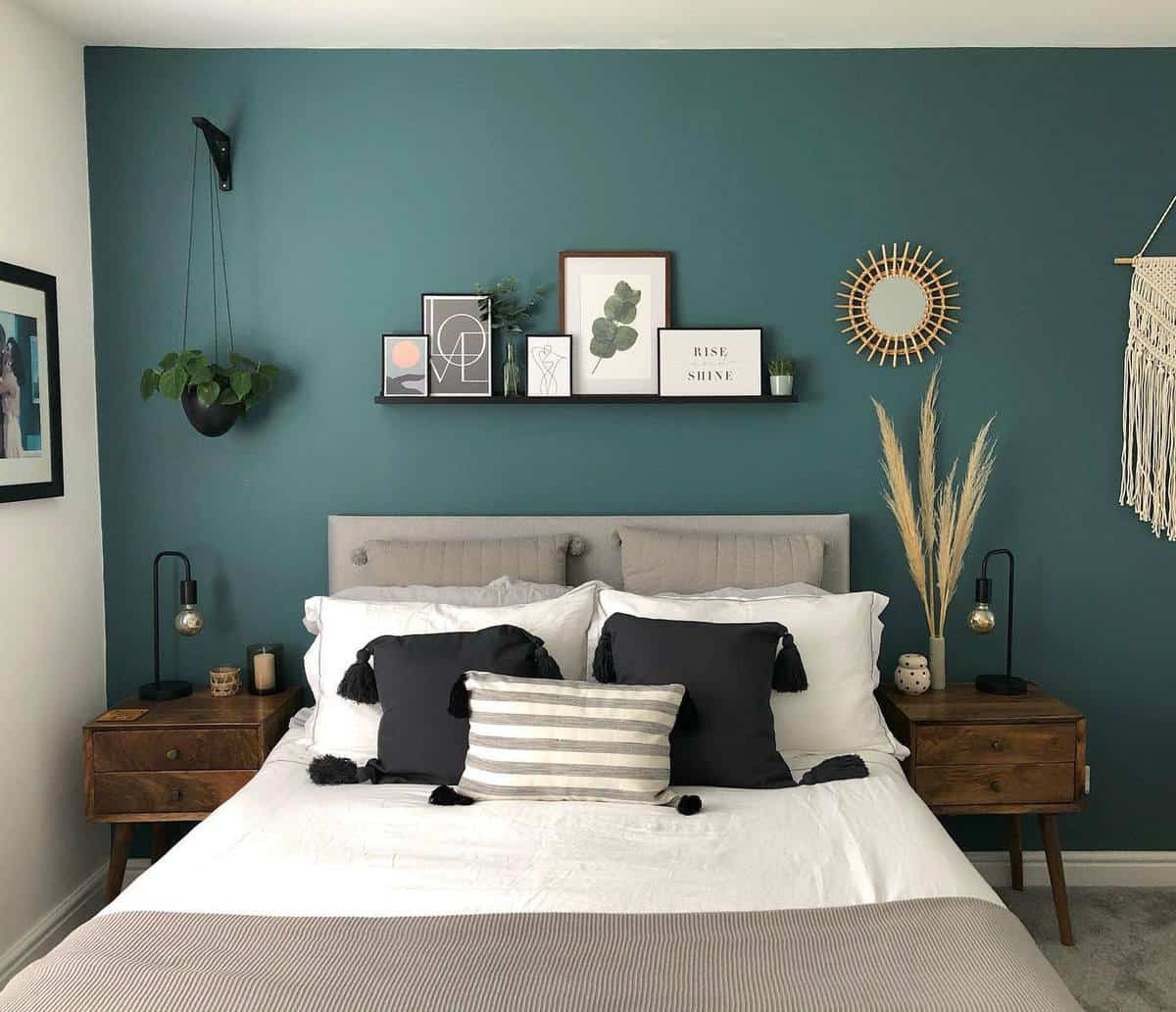 Forest Green Bedroom Ideas -our_leyburn_home