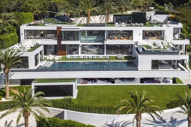 Four Story Mega Mansion, Bel Air, California ($250 million)