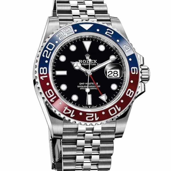 """GMT-Master II """"Pepsi"""" Rolex Watch"""