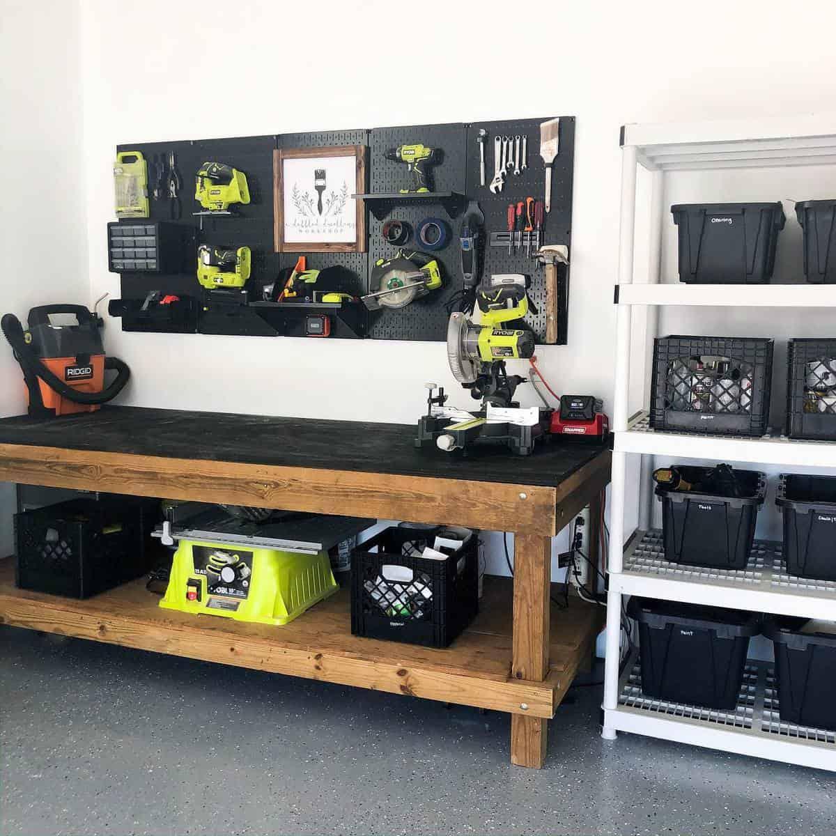 Garage Tool Storage Ideas -a.dabbled.dwelling