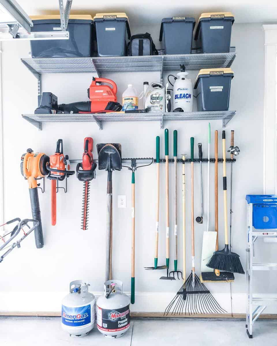 Garage Tool Storage Ideas -afreshspace