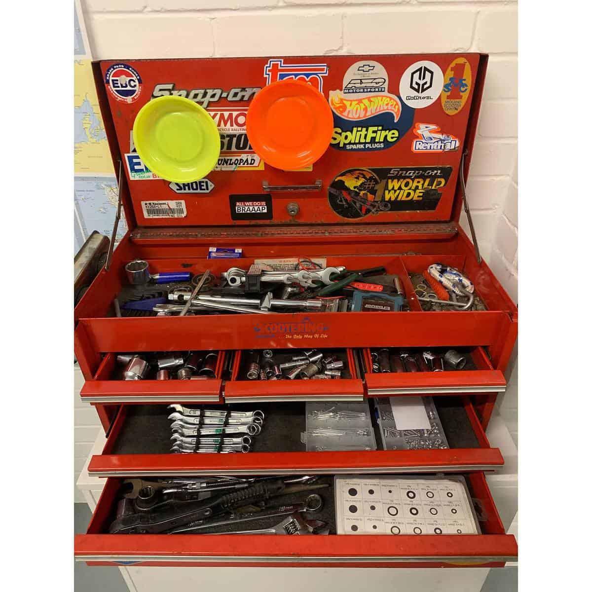 Garage Tool Storage Ideas -bike_park_leith