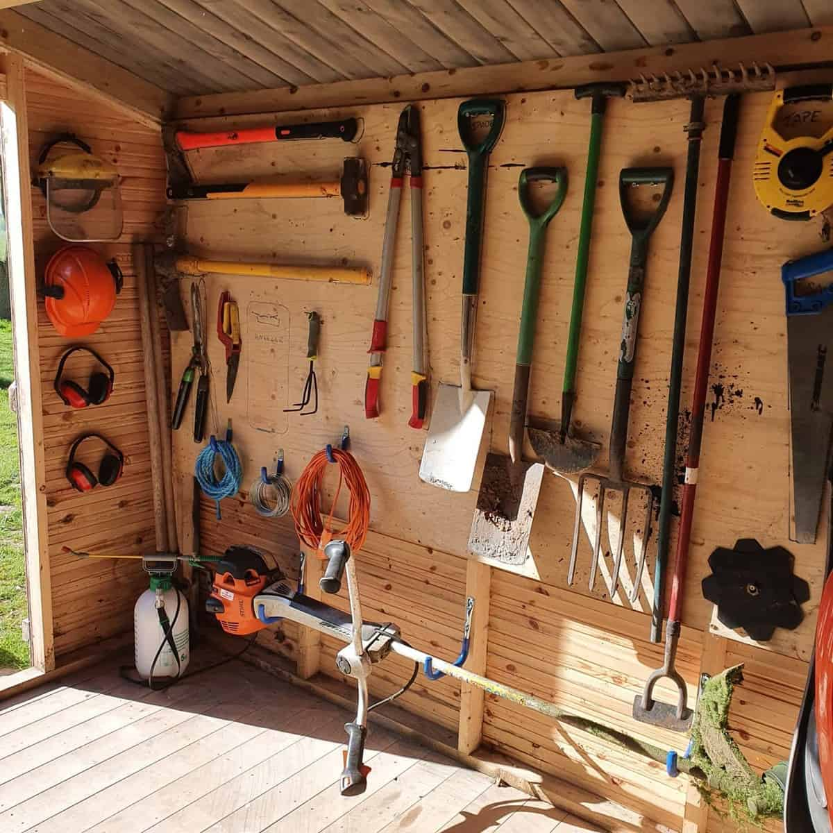 Garage Tool Storage Ideas -sortedbychelsea