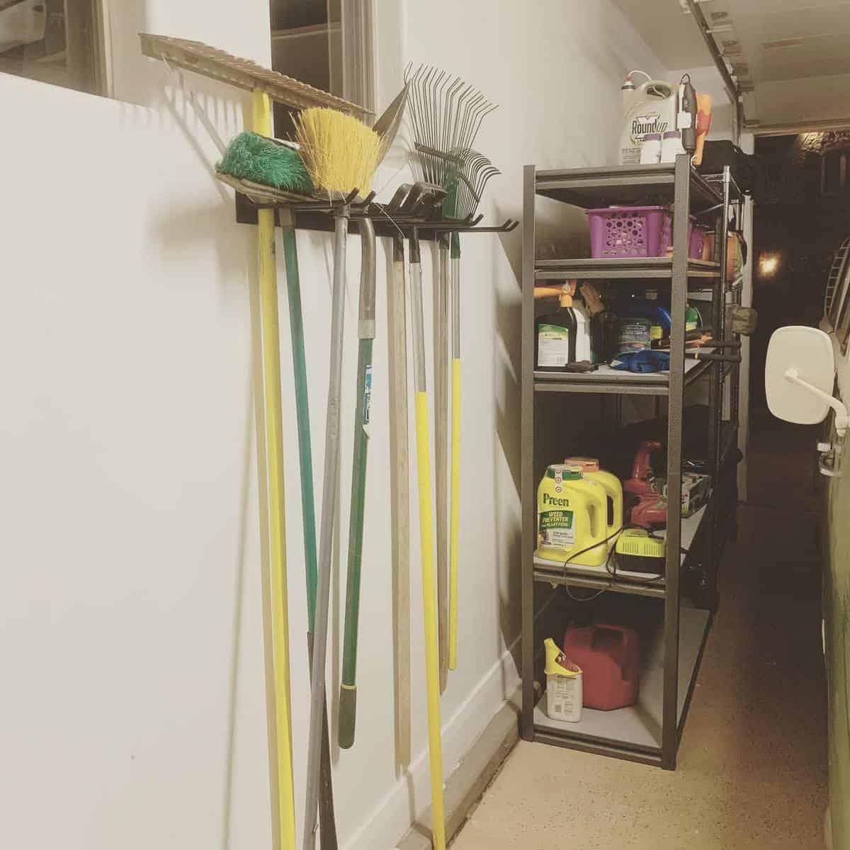 Garage Tool Storage Ideas -uniquelyannaca
