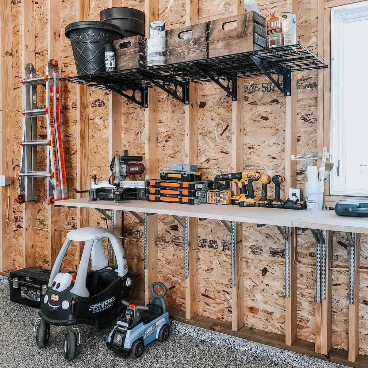 Garage Tool Storage Ideas -visionsfrommyfrontporch