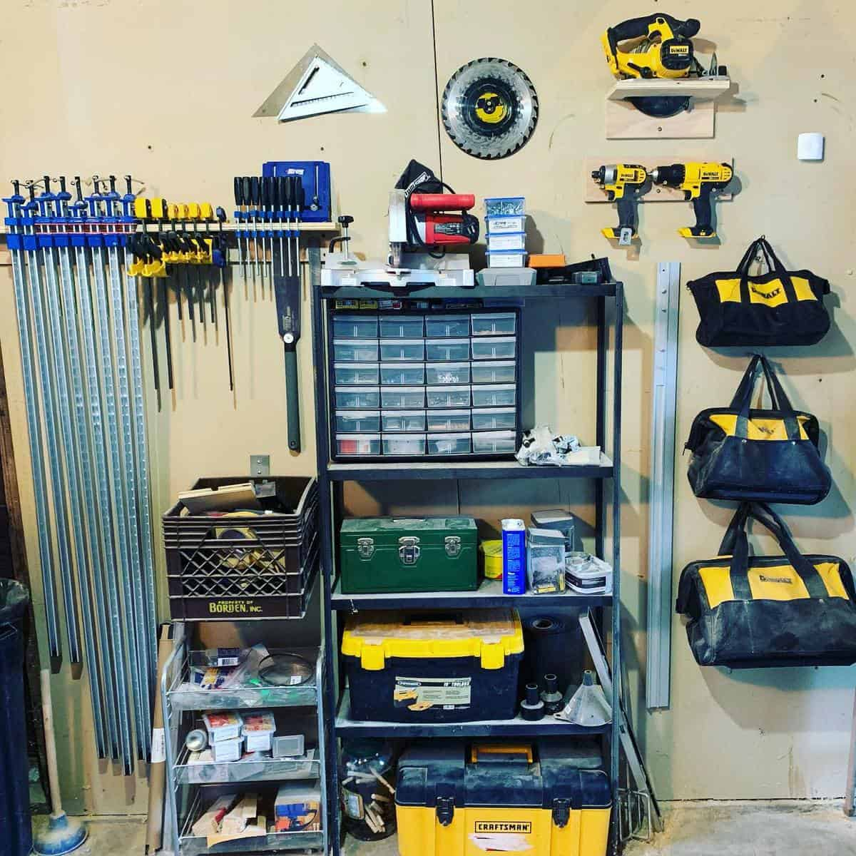 Garage Tool Storage Ideas -whatwoodbradbuild