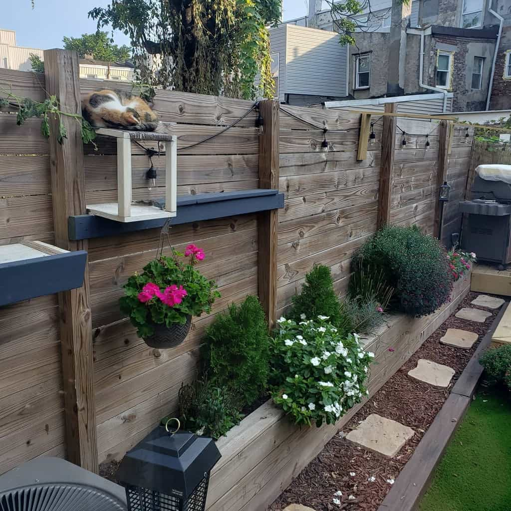 Garden DIY Backyard Ideas -thecraftycatsman