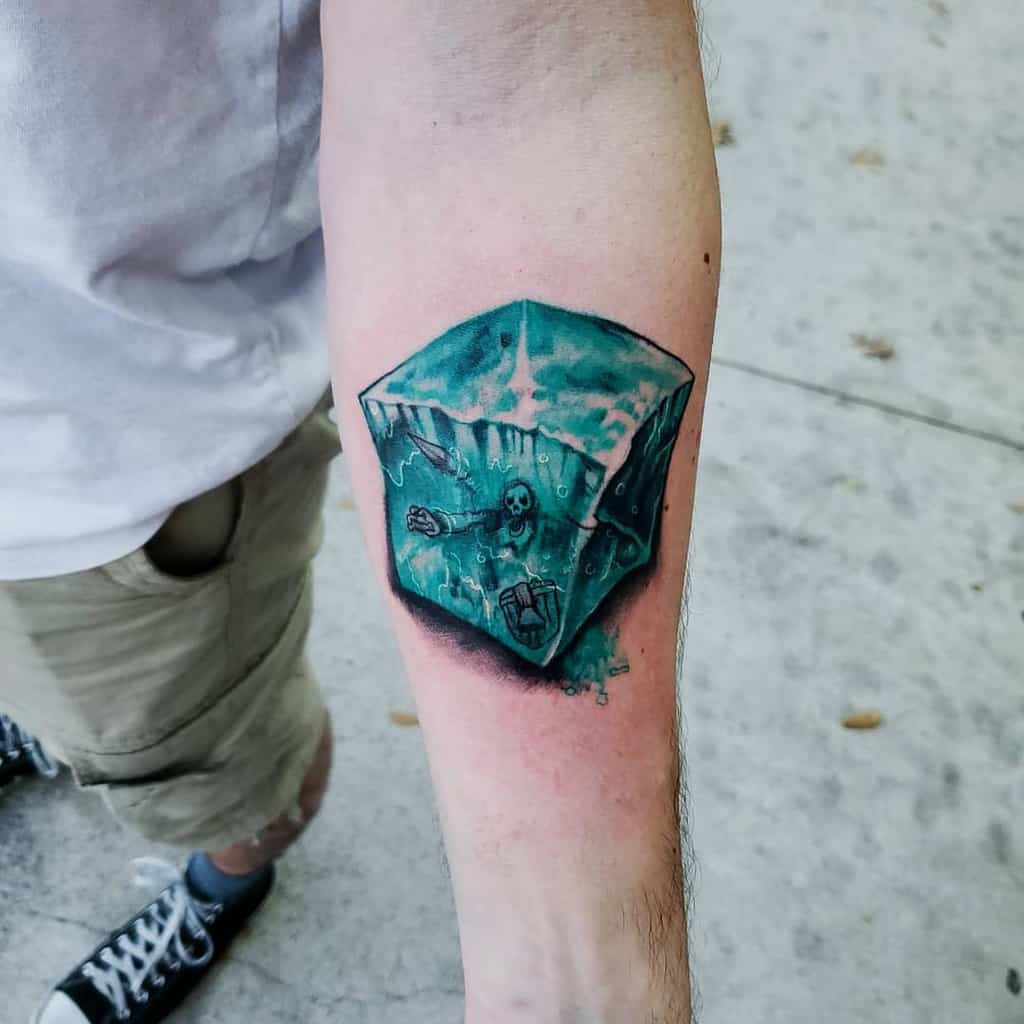 Gelatinous Cube Dungeons And Dragons Tattoos Tats And Snacks
