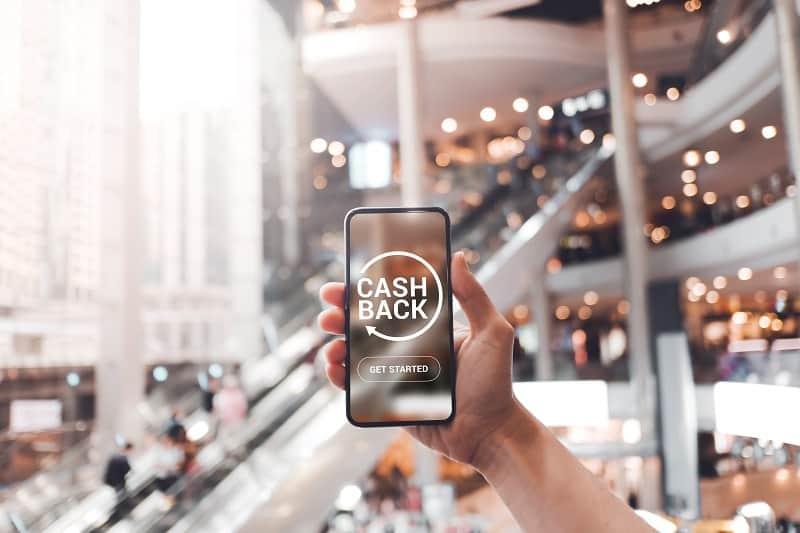 Get cash back.