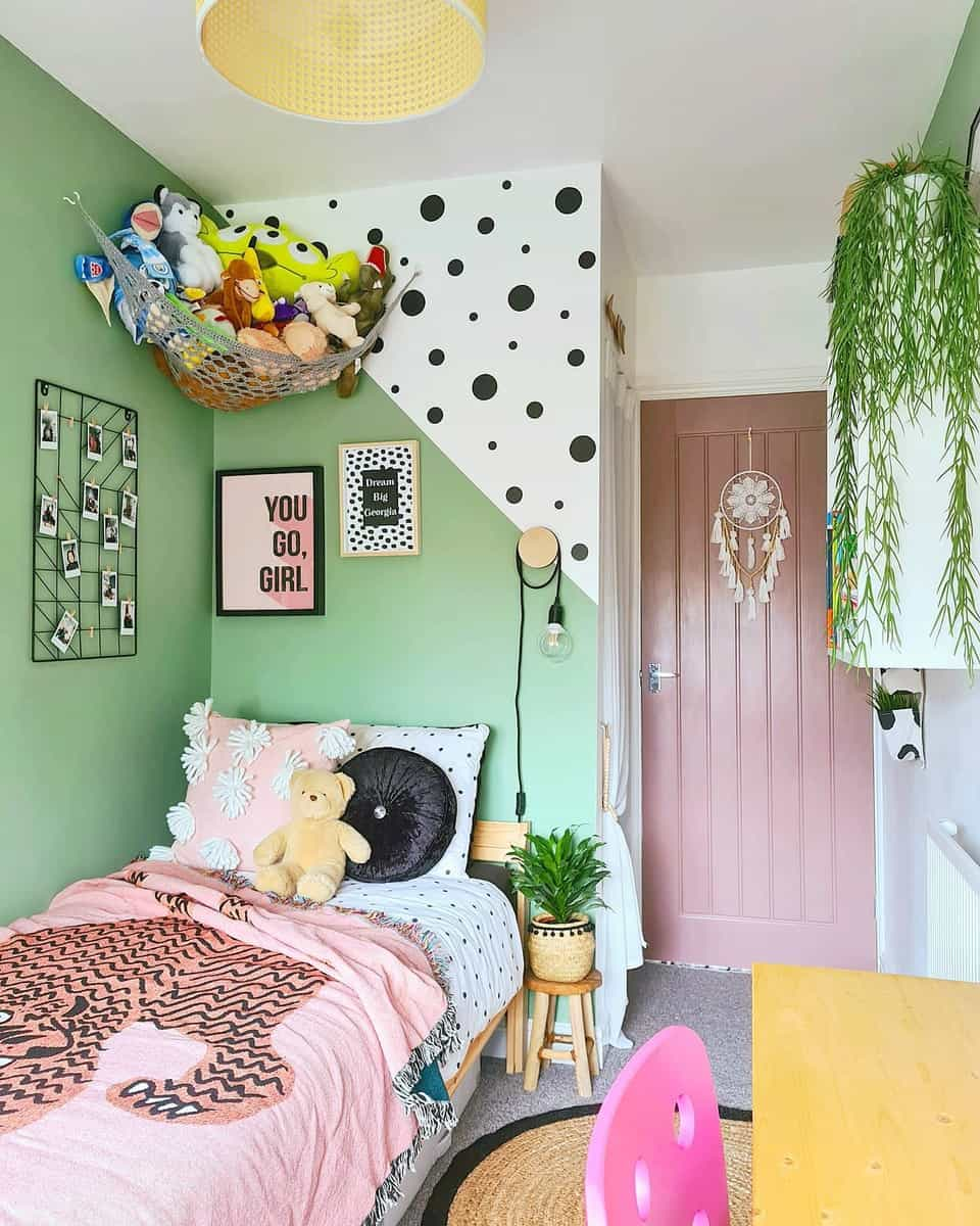 Girl Green Bedroom Ideas -all_things_interior_