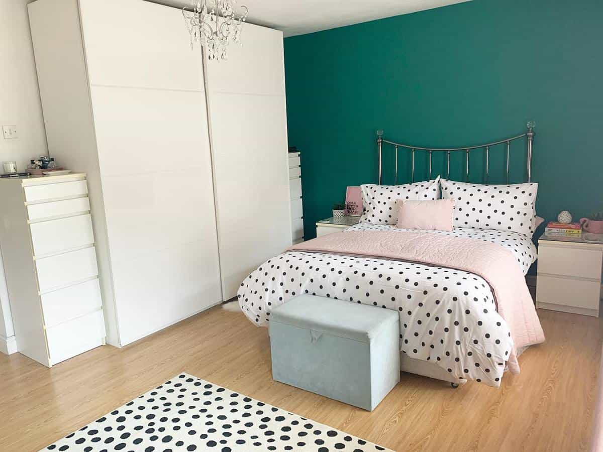 Girl Green Bedroom Ideas -what_aimee_did_next