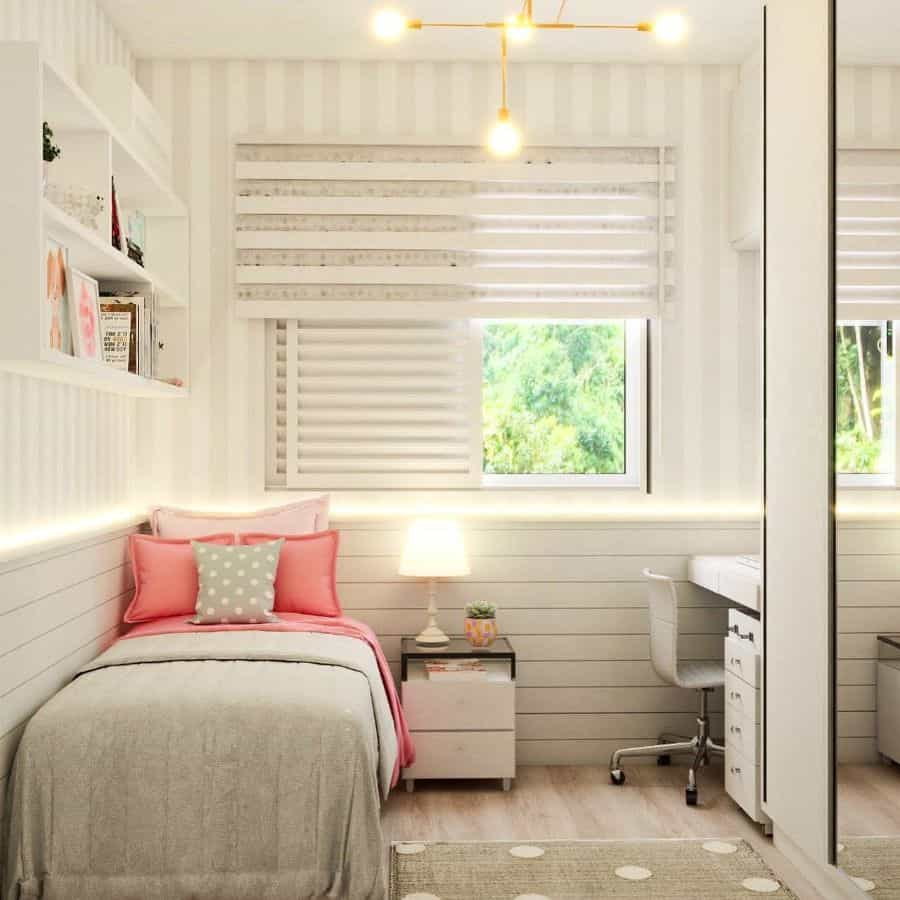 Girl Small Bedroom Ideas Projetosquartosinfantis