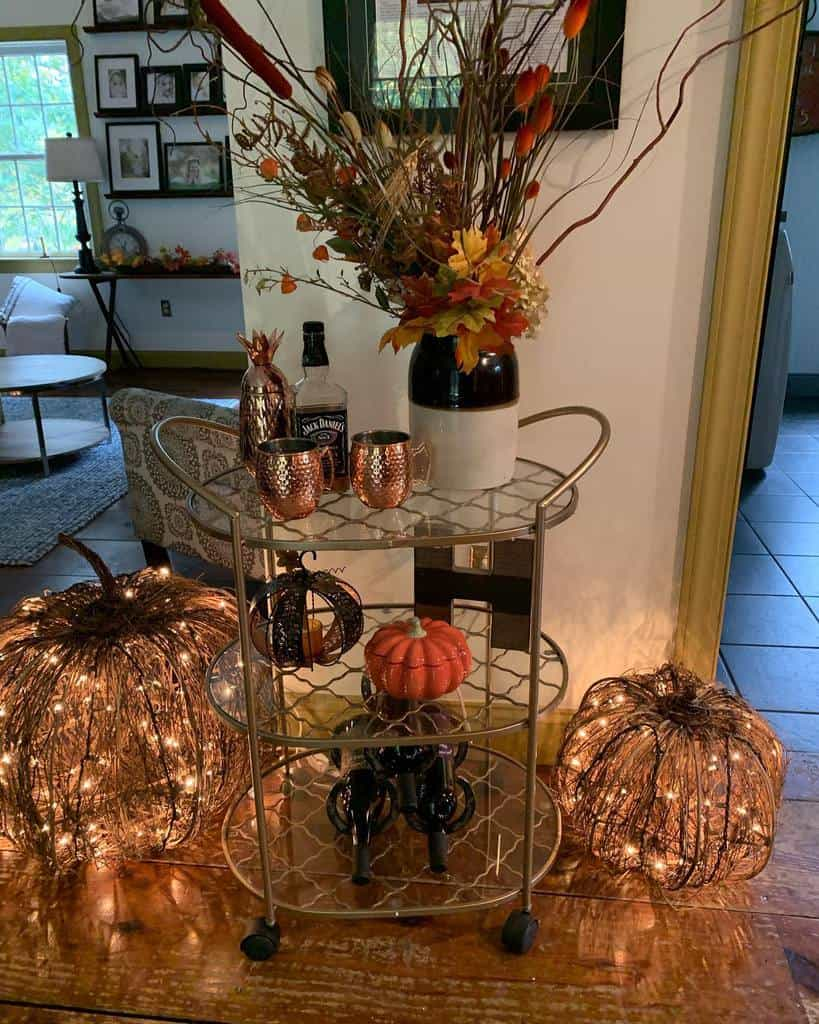Glass Bar Cart Ideas -tracyhine99
