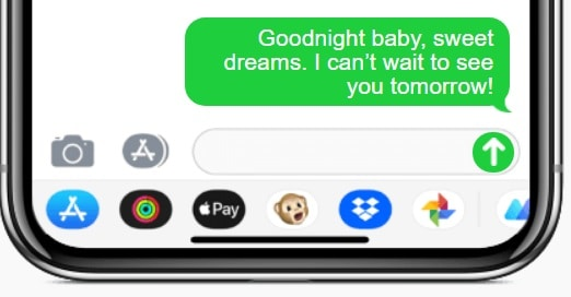 Goodnight Text For A Girlfriend