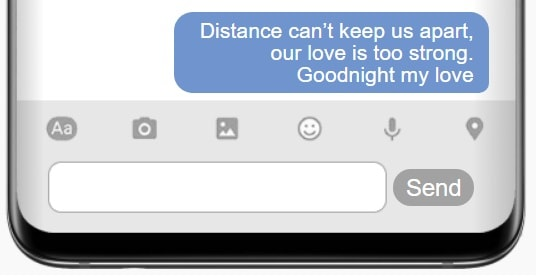 Goodnight Text For Long Distance Relationships