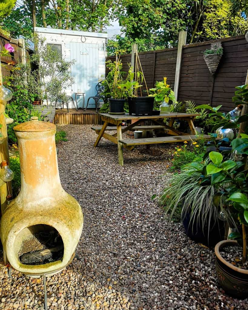 Gravel Patio Garden Ideas -joyfulfluff