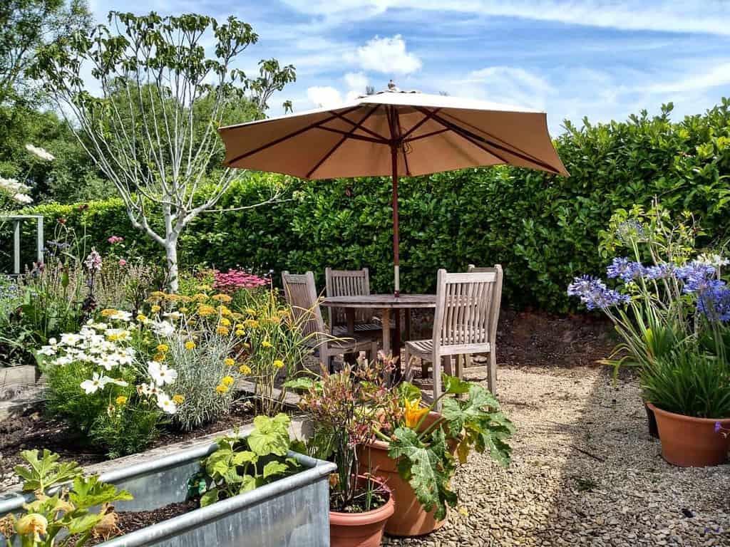 Gravel Patio Garden Ideas -prioryhome