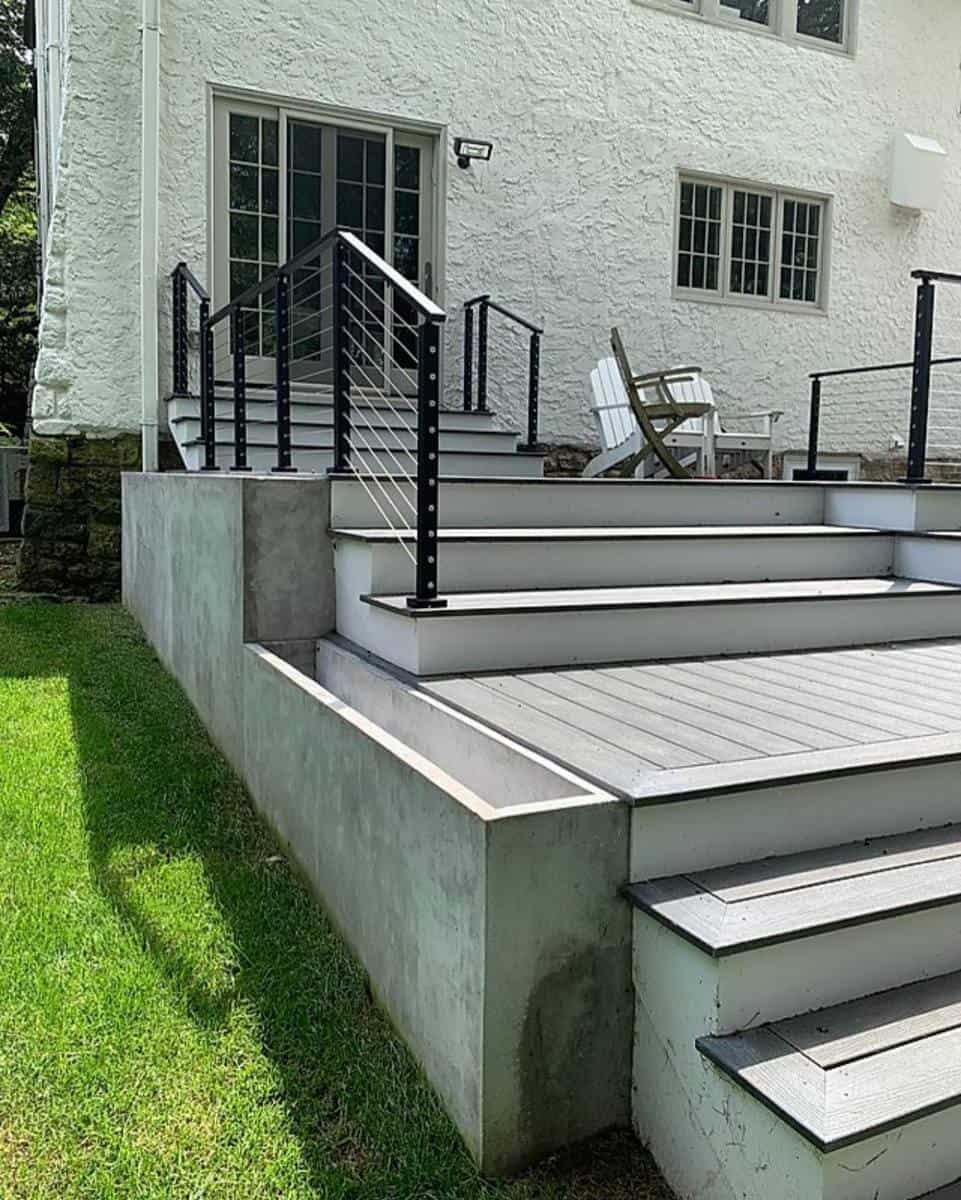 Gray Deck Color Ideas -ae.expressiondesign