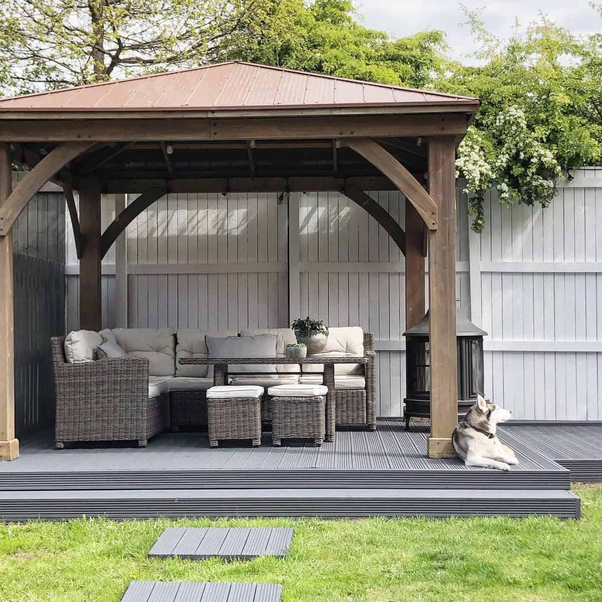 Gray Deck Color Ideas -sammypattersonathome