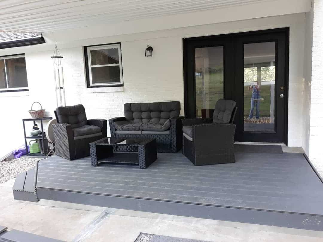 Gray Deck Color Ideas -sparklesandfriendspuppets