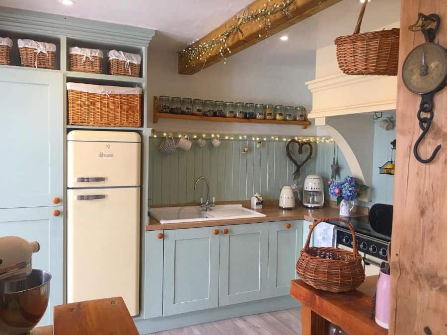 Green Kitchen Cabinet Color Ideas little_house_on_dartmoor