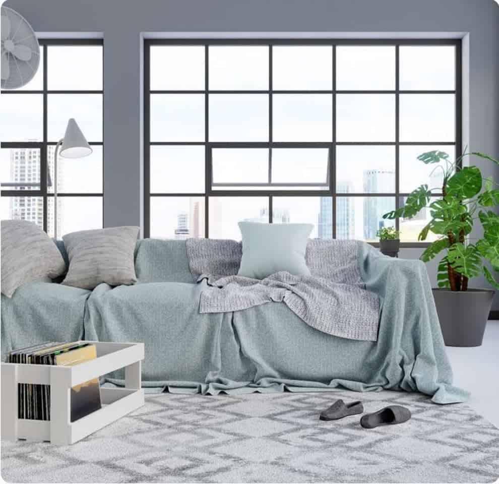 Grey Sofa Living Room Carpet ideas -xerovecdecor