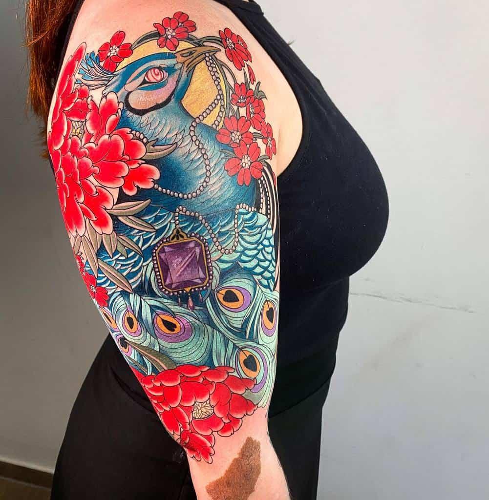 Half Sleeve Arm Tattoos for Women maiza.tattoos