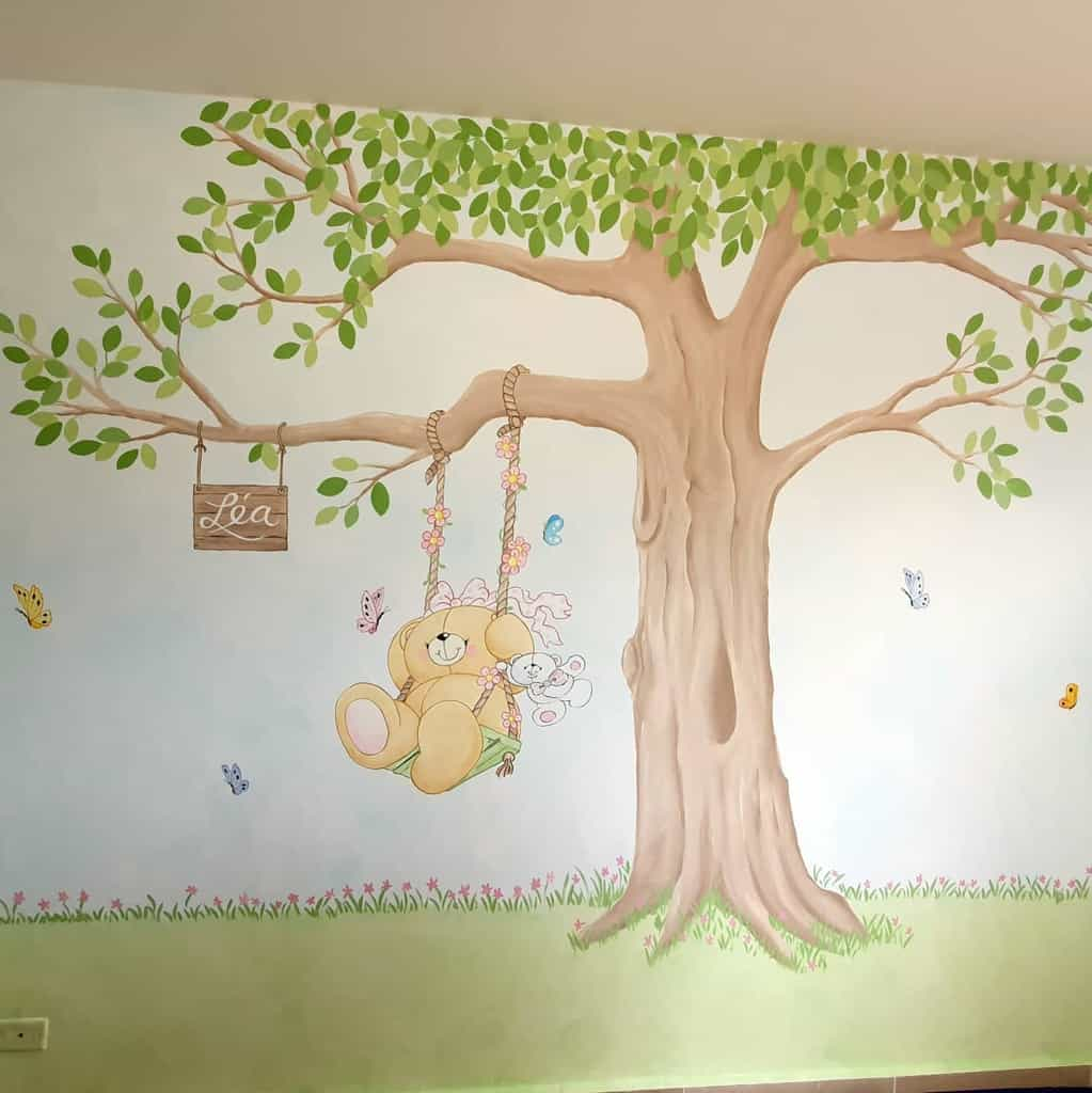 Hand Painted Wall Mural Ideas -luisjmontes