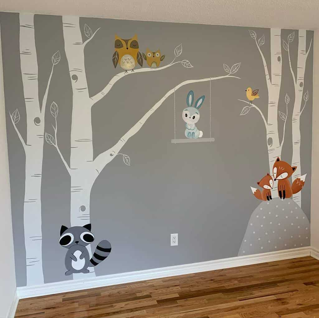 Hand Painted Wall Mural Ideas -wall_wear