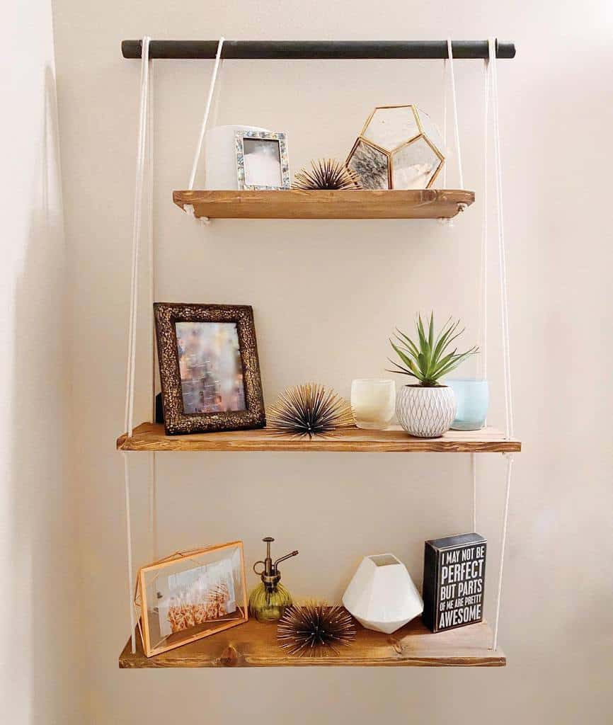 Hanging Shelving Ideas iansfurniture