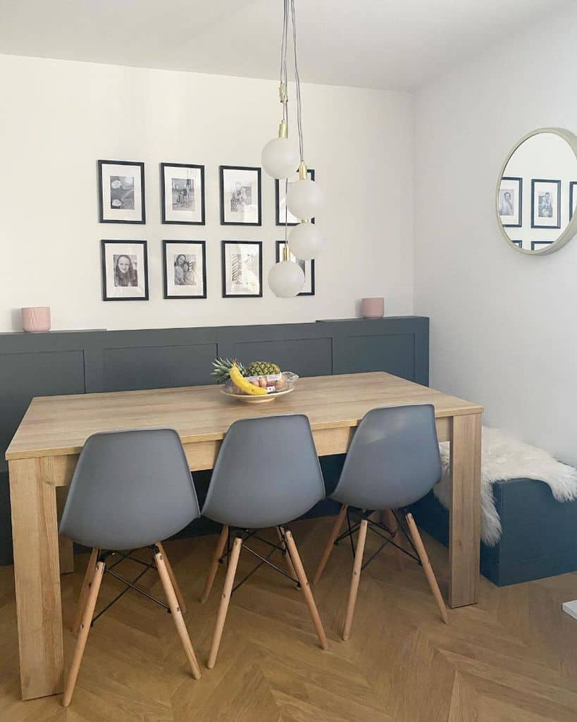 Hanging dining room lighting ideas renovating_thegrainstore