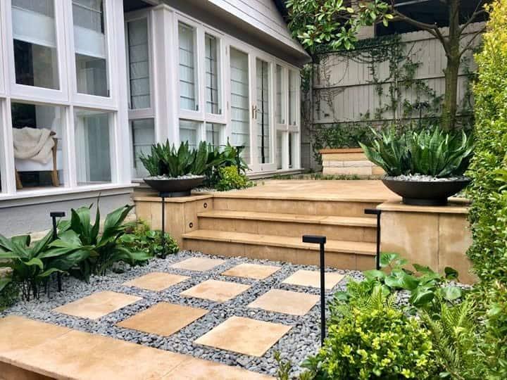 Hardscape Grass Free Yard Ideas -growingrooms