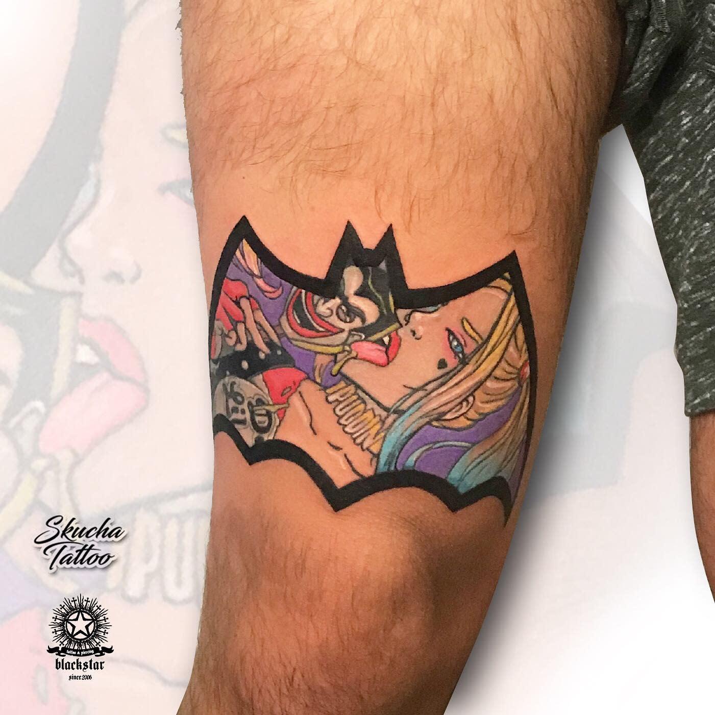 Batman Harley Quinn Tattoo Ideas -skuchatattoo