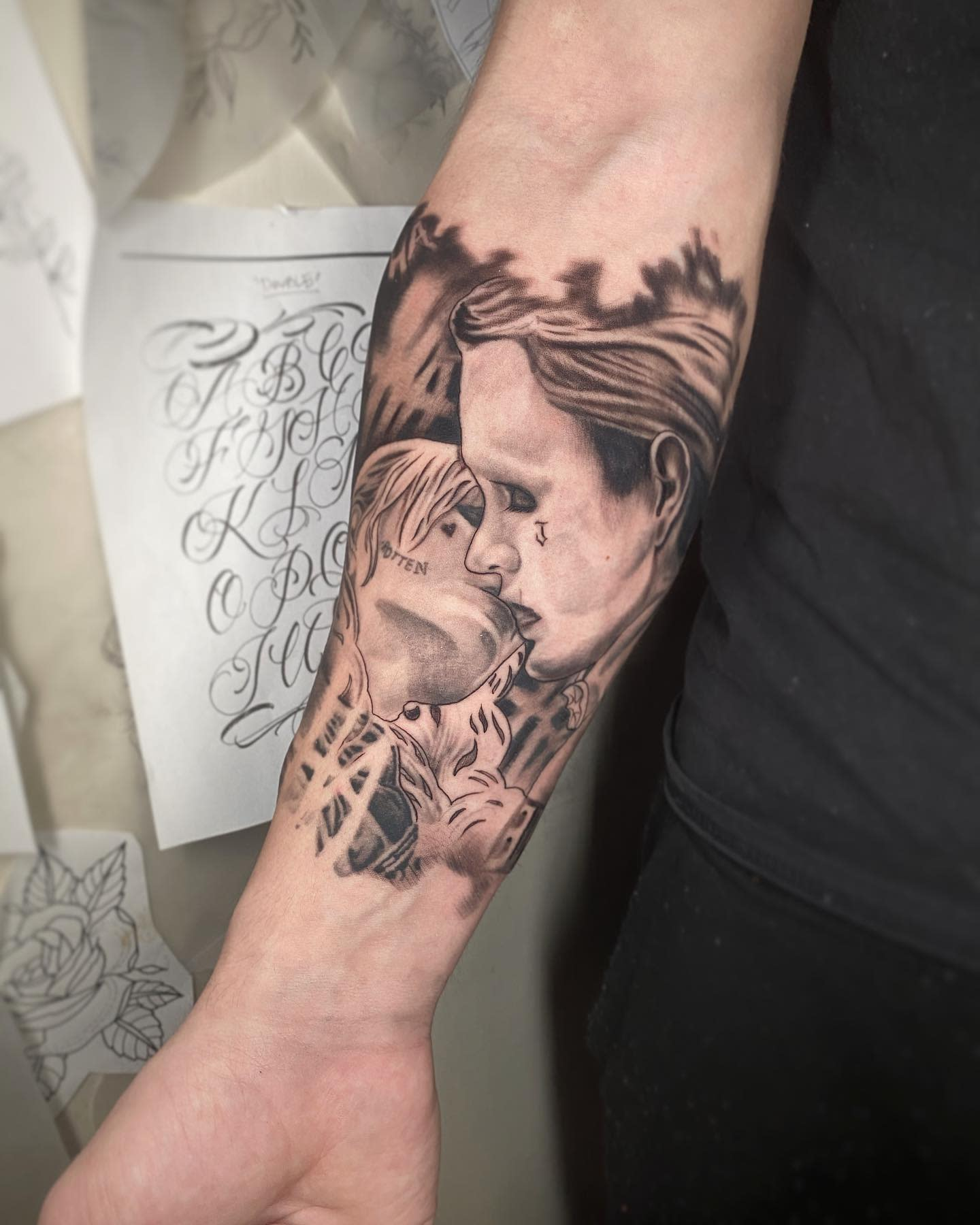 Joker Harley Quinn Tattoo Ideas -stickers_the_tattooer_