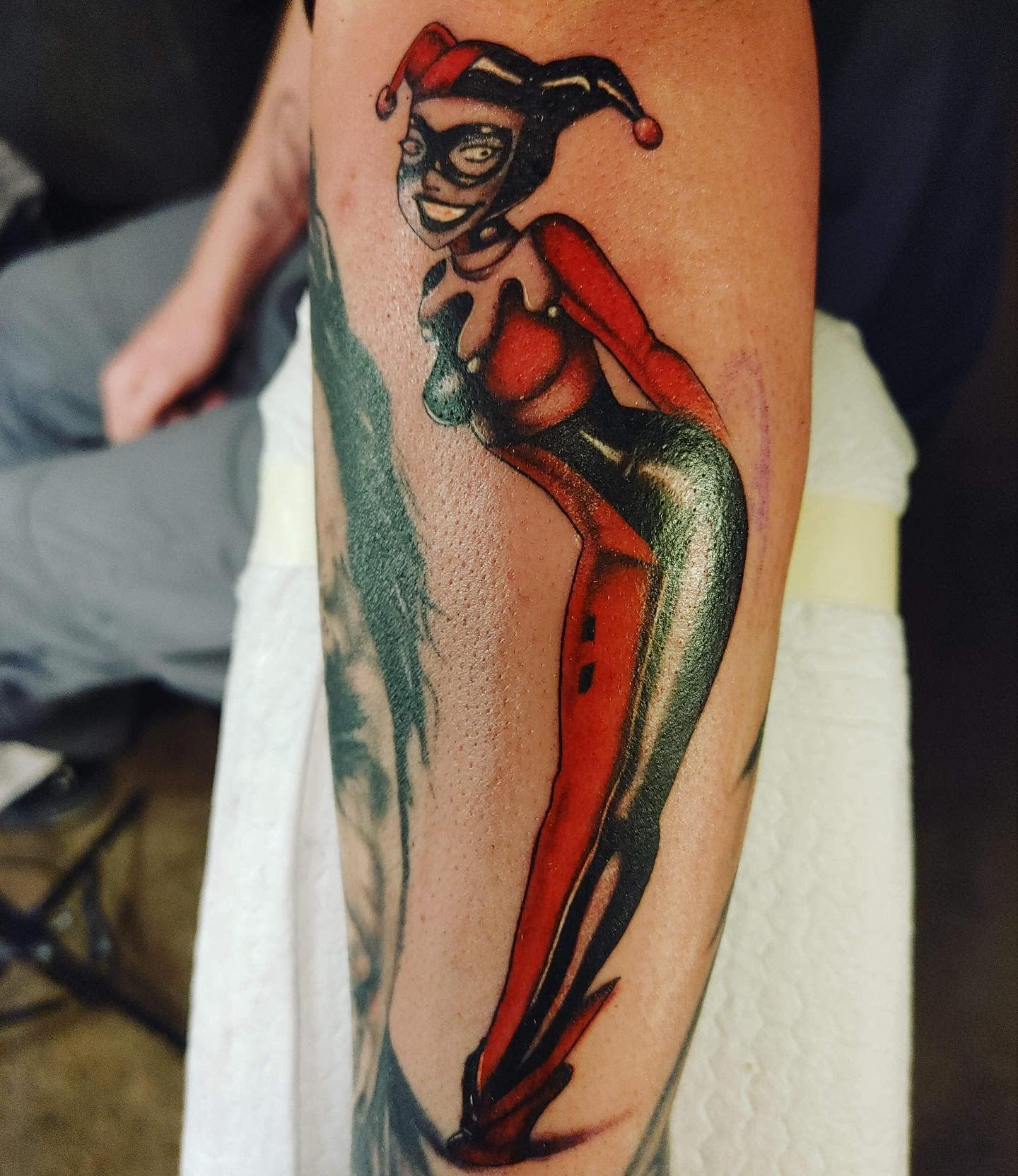 Original Harley Quinn Tattoo Ideas -1ofakindinks